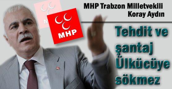 Koray Aydın: MHP'yi Durduramayacaklar