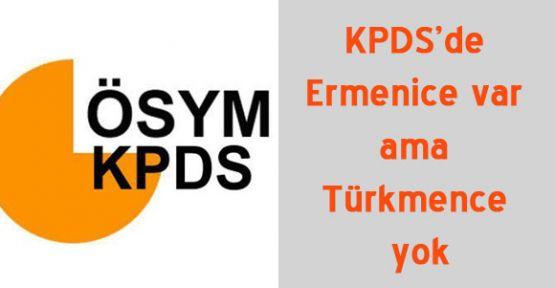 """KPDS'de """"Ermeni ve Rum Açılımı"""