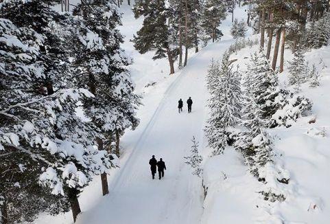 Küresel ısınma karı erken eritti...