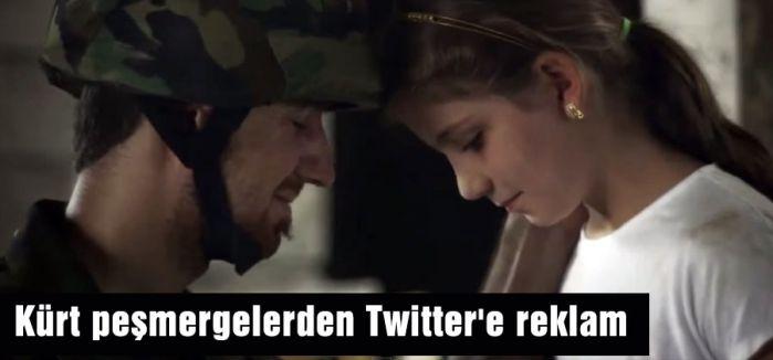 Kürt peşmergelerden Twitter'e reklam