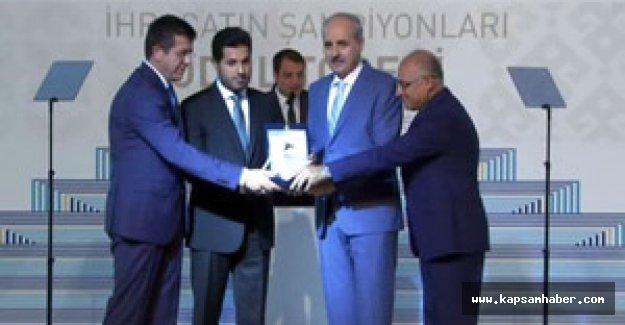 Kurtulmuş'tan Şok Zarrab'a ödül açıklaması