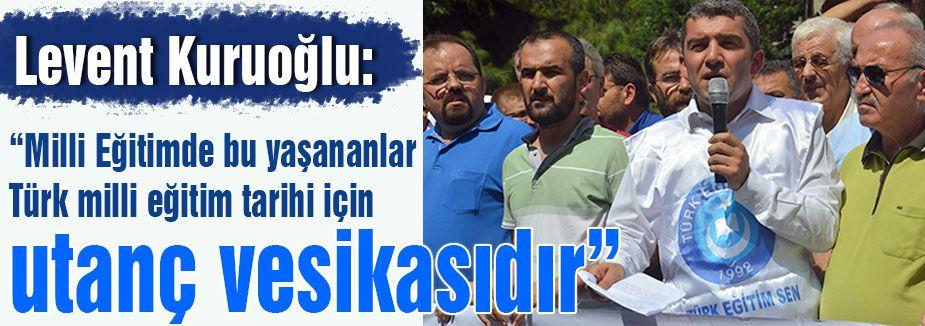 Kuruoğlu: 'Türkiye'yi eylem alanına çevireceğiz'