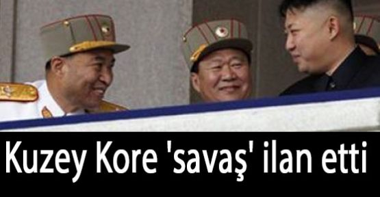 Kuzey Kore'den  'savaş' ilanı