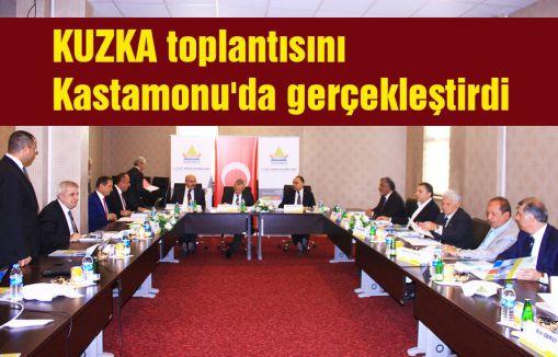 KUZKA toplantısını Kastamonu'da gerçekleştirdi