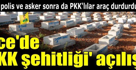 Lice'de PKK Şehitliği...