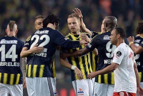 Lider Fenerbahçe farklı kazandı...