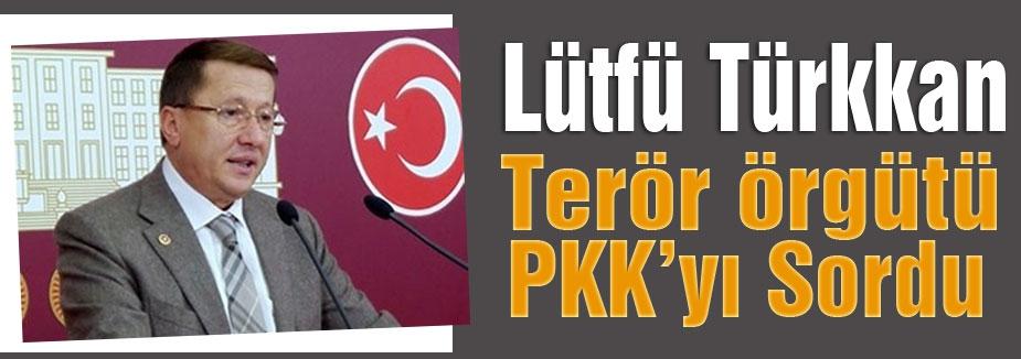 Lütfü Türkkan; Terör Örgütünü Sordu
