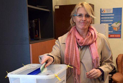 Makedonya'daki cumhurbaşkanlığı seçimi...