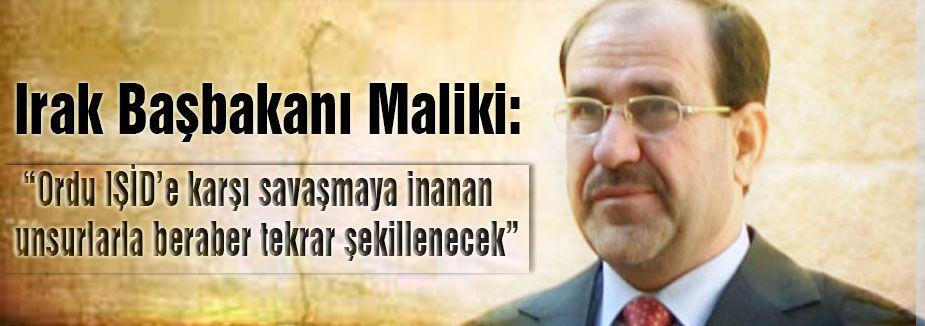 Maliki: Silahını bırakıp kaçanlar idamla cezalandırılacak