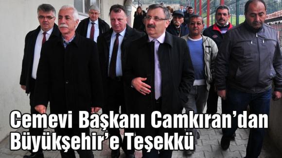 Manisa Belediyesine Cemevi'nden teşekkür...