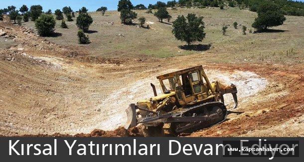 Manisa'da Kırsal Yatırımları Devam Ediyor