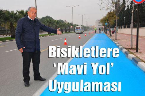 Manisa'da 'Mavi Yol' Uygulaması
