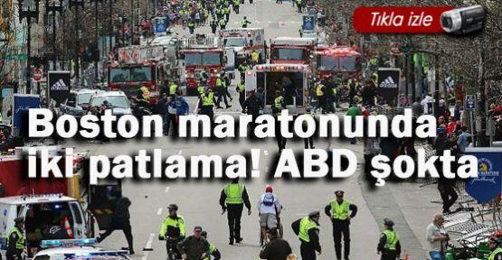 Maratonunda iki patlama! ABD' de alarm!