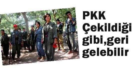 """Marcus,"""" PKK'ın Geri Gelmesi Her Zaman Mümkün"""""""