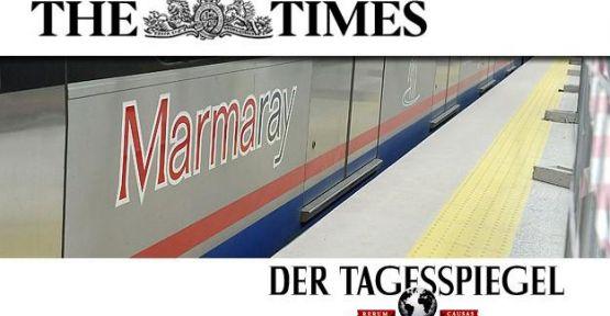 Marmaray Avrupa basınında