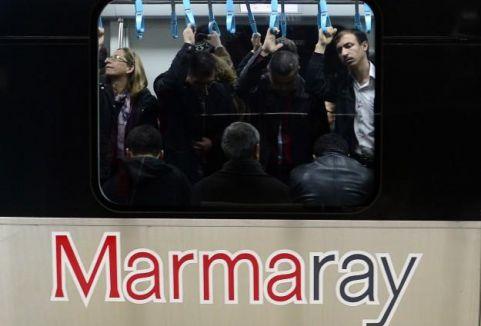 Marmaray'da su sızıntısı