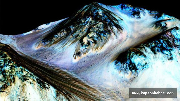 Mars'ta su izleri yaşam ihtimalini artırdı