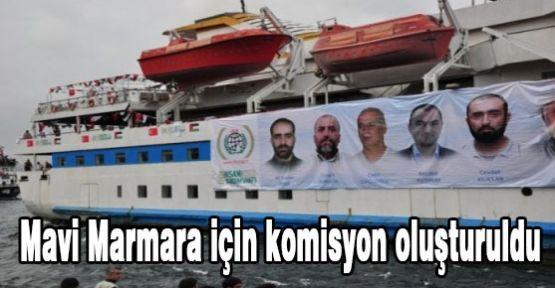 Mavi Marmara için komisyon belirlendi