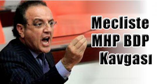Mecliste MHP BDP Kavgası