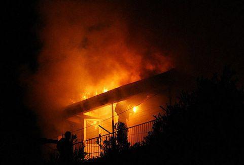Medine'deki otel yangınında neler oldu...
