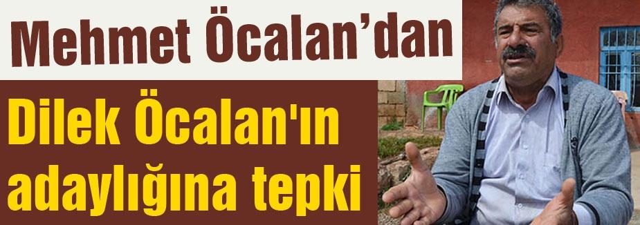 Mehmet Öcalan'dan Dilek Öcalan'ın adaylığına tepki!