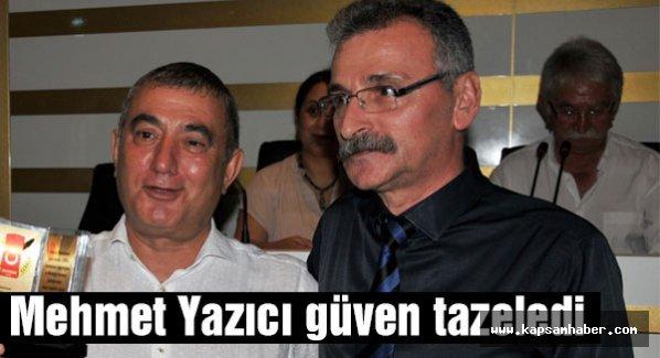 Mehmet Yazıcı Yeniden Başkan