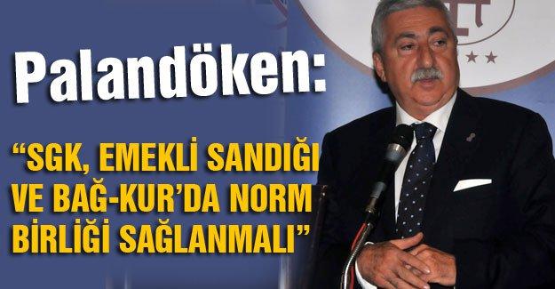 """""""MEMUR, İŞÇİ VE ESNAF AYNI HAKLARA SAHİP OLMALI"""""""