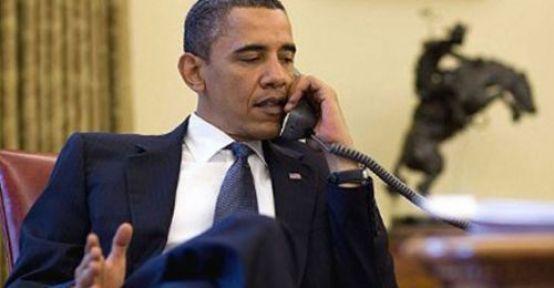 Merkel Obama'yı Suriye İçin Aradı...