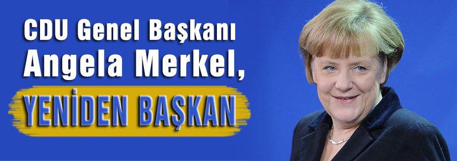 Merkel yeniden başbakan oldu
