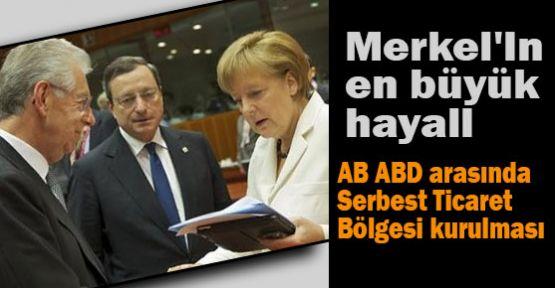 Merkel'in en büyük hayali