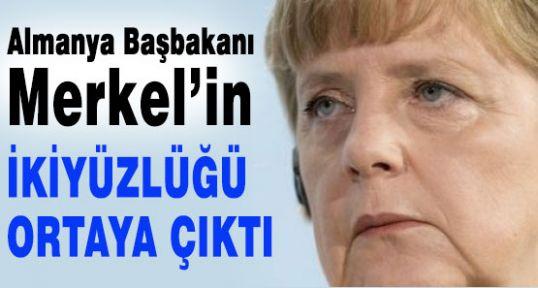 Merkel'in ikiyüzlülüğü