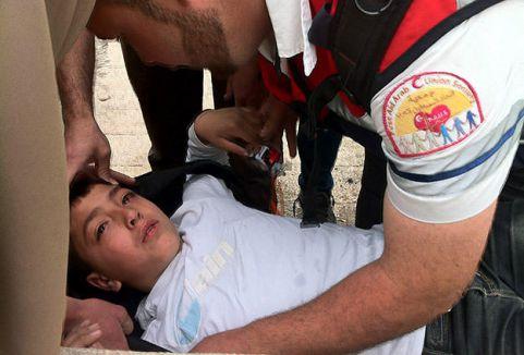 Mescid-i Aksa'da İsrail şiddeti...