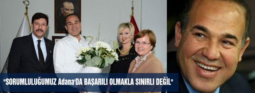MHP Adana'da birlik örneği...