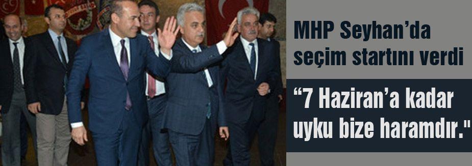 MHP Adana'da seçim çalışmalarına başladı