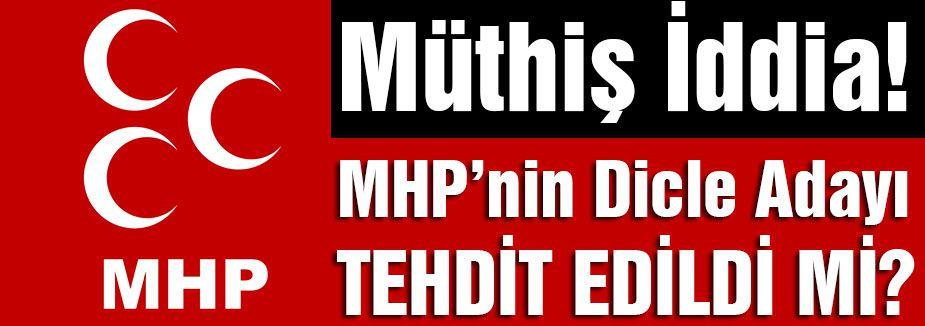 PKK ; MHP Adayını Tehdit Etti mi?