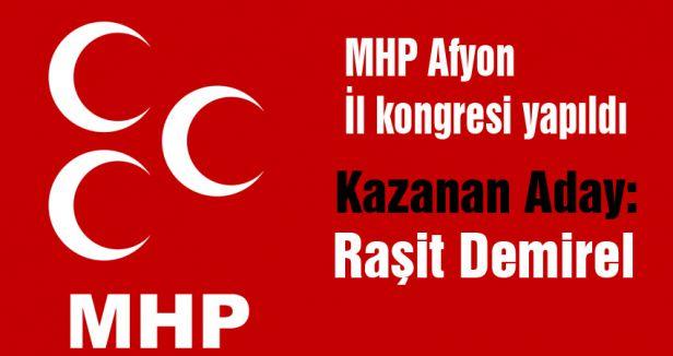 MHP Afyon İl kongresi yapıldı