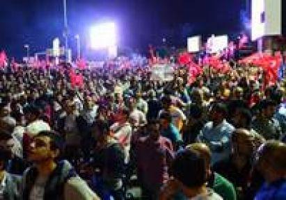 MHP AK Partililerin Sloganına Soruşturma İstedi...