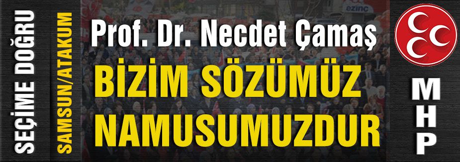 MHP Atakum Sçim Bürosunu Açtı