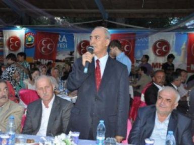MHP Bafra iİftar Yemeğine Büyük İlgi...