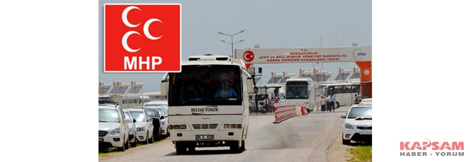 MHP'den 'Taşımalı Mitinge' Suç Duyurusu