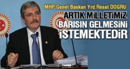 MHP Genel Başkan Yardımcısı'ndan Terör Açıklaması