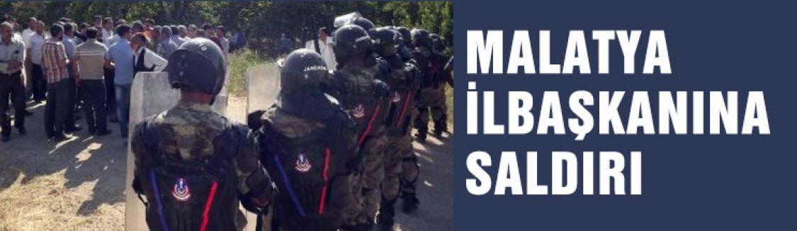 MHP il başkanına saldırı