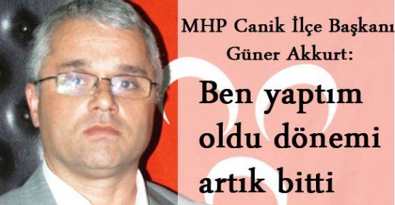MHP İlçe Başkanı Akkurt: Bu acılar yaşanmamalıydı