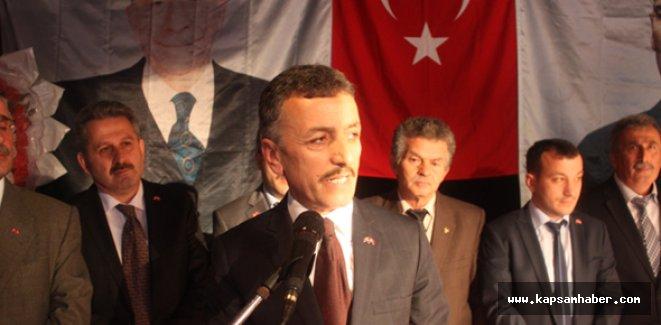 MHP İlçe Başkanı, AKP'lilerin halkı tehdit ettiğini savundu