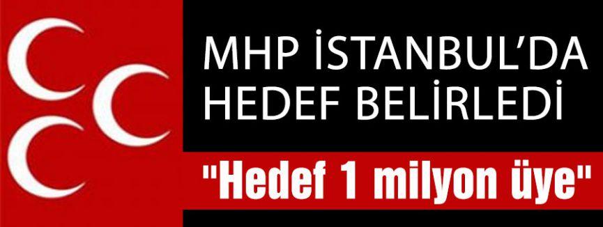 MHP İstanbul Hedef Belirledi
