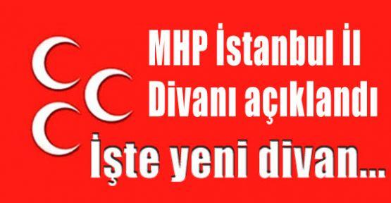 MHP İstanbul İl Divanı isimleri belli oldu