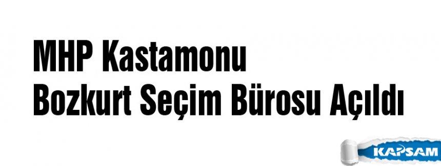 MHP Kastamonu Bozkurt Seçim Bürosu Açıldı