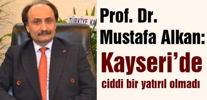 MHP Kayseri Aday Adayı Prof.Dr. Alkan'dan Açıklama