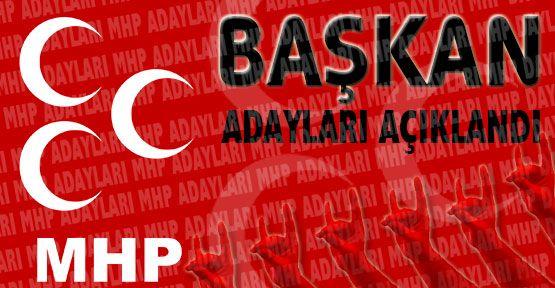 MHP Kayseri'de Adaylarını Açıkladı