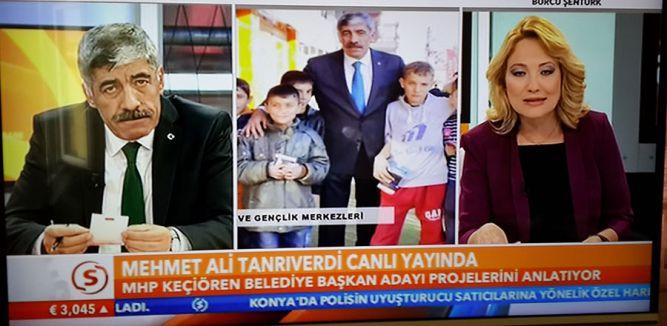 MHP Keçiören Adayı Samanyolun'da konuştu